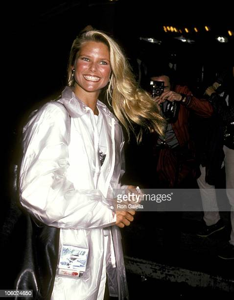 Christie Brinkley during Christie Brinkley Sighting at The Parker Meridian Hotel October 13 1982 at Parker Meridian Hotel in New York City New York...