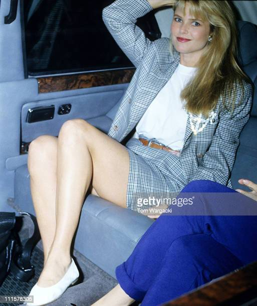 Christie Brinkley during Christie Brinkley Sighting in London July 12 1987 in London United Kingdom