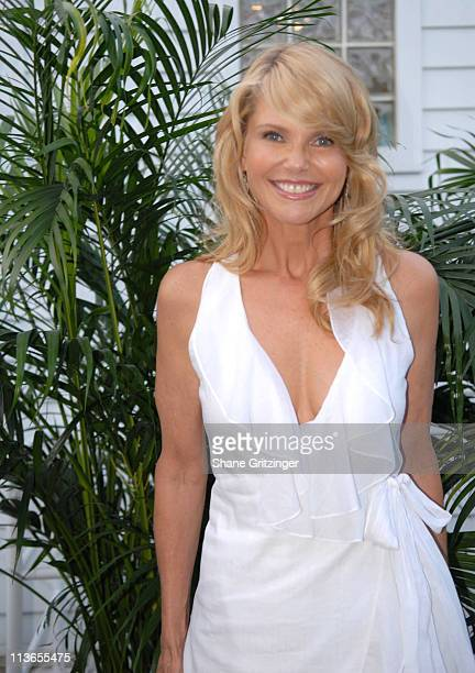 Christie Brinkley during Hamptons Magazine 7th Annual Memorial Day Barbecue in Southhampton New York United States