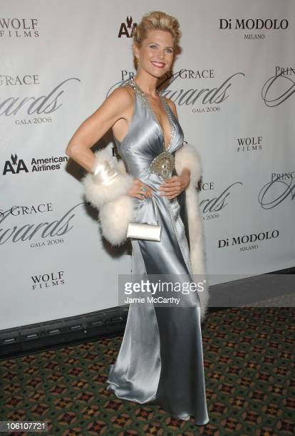 Christie Brinkley during The 2006 Princess Grace Awards Gala at Cipriani 42nd Street in New York City New York United States