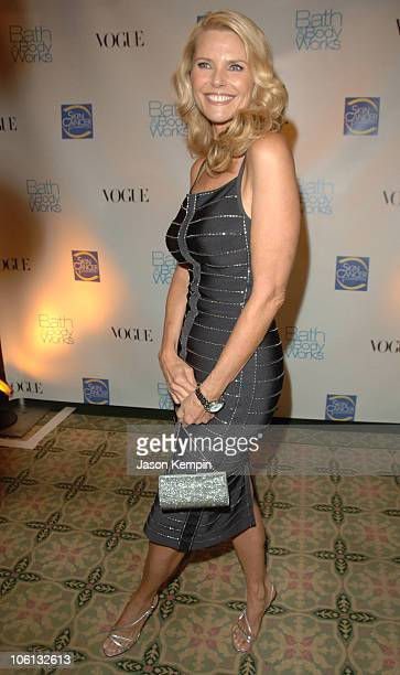 Christie Brinkley during The Skin Cancer Foundations Annual 'Skin Sense' Award Gala October 11 2006 at The Pierre Hotel in New York City New York...