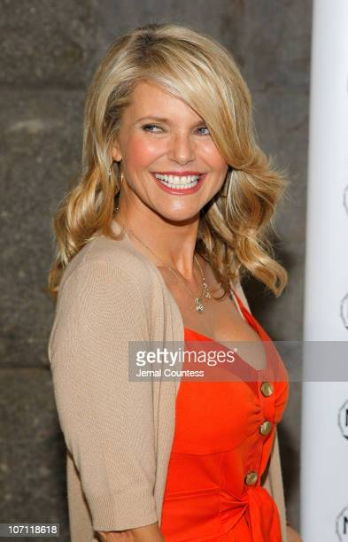 Christie Brinkley Fashion Icon and Chairman of the Northeastern Organic Farming Association of New York attends the 2nd annual luncheon and education...