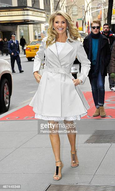 Christie Brinkley is seen on March 24 2015 in New York City