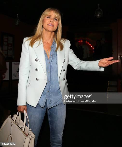 Christie Brinkley is seen on May 11 2017 in Los Angeles CA