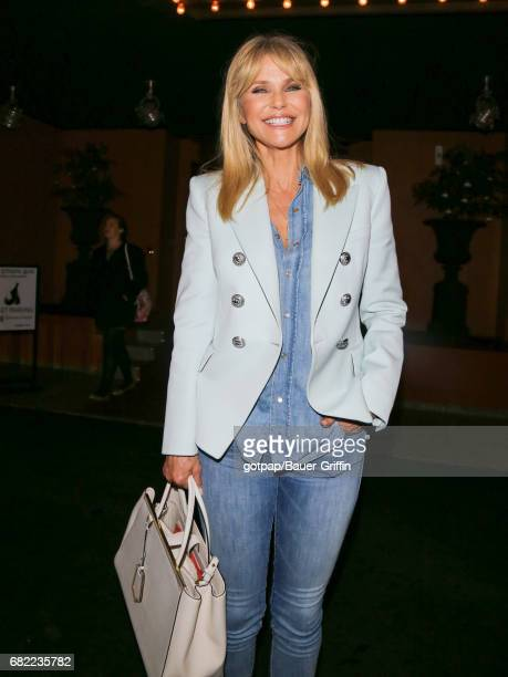 Christie Brinkley is seen on May 11 2017 in Los Angeles California
