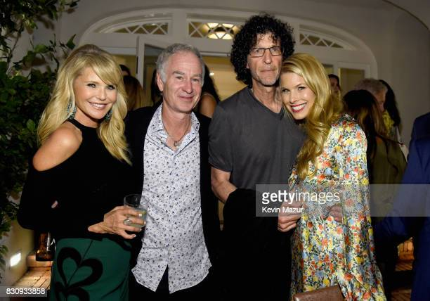 Christie Brinkley John McEnroe Howard Stern and Beth Ostrosky Stern attend Apollo in the Hamptons 2017 hosted by Ronald O Perelman at The Creeks on...