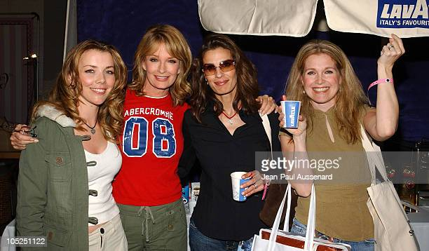 Christie Clark Deidre Hall Kristian Alfonso and Melissa Reeves at Lavazza