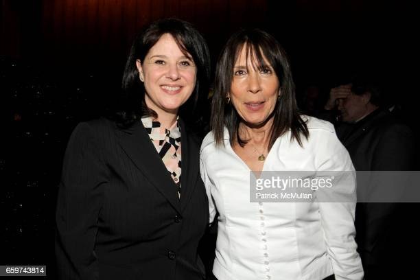 Christie Emden and Sandi Mendelson attend PARADE MAGAZINE and SI Newhouse Jr honor Walter Anderson at The 4 Seasons Grill Room on March 31 2009 in...