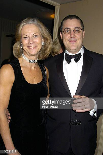 Christie Hefner and Chris Napolitano during The Magazine Publishers of America Henry Johnson Fisher Awards Dinner at The Waldorf Astoria Hotel in New...