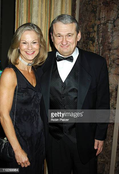 Christie Hefner and Jack Kliger during The Magazine Publishers of America Awards Dinner January 25 2006 at The Waldorf Astoria Hotel in New York New...