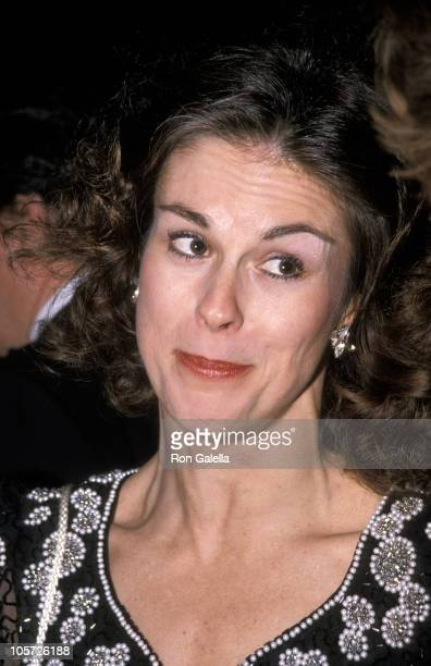 Christie Hefner during People for American Way Benefit Gala November 16 1989 at Seagram Plaza in New York City New York United States