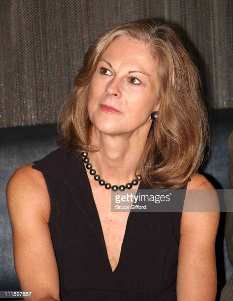 Christie Hefner during Playboy and Roberto Cavalli Unveil the New Interpretation of the Playboy Bunny Costume November 4 2005 at Palms Casino and...