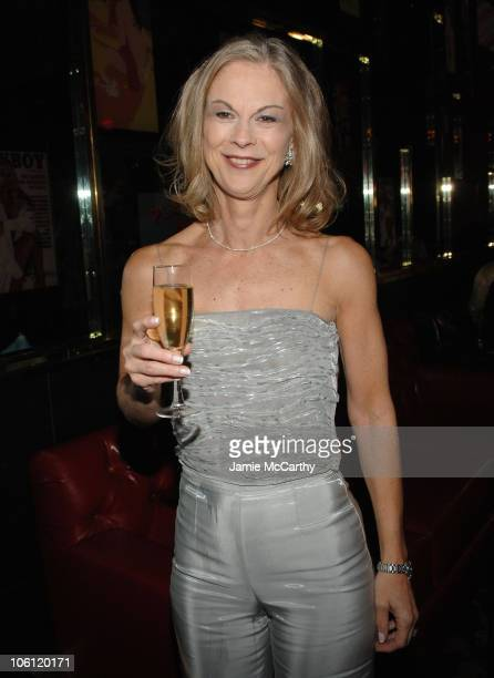 Christie Hefner during The Playboy Club Grand Opening at The Palms Hotel and Casino Day One at The Playboy Club The Palms Hotel and Casino in Las...
