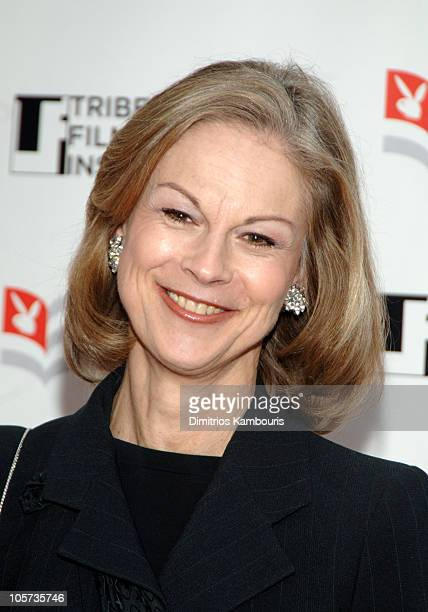 Christie Hefner during Tribeca All Access Connects Awards and Closing Party Arrivals at Tribeca Grand in New York City New York United States