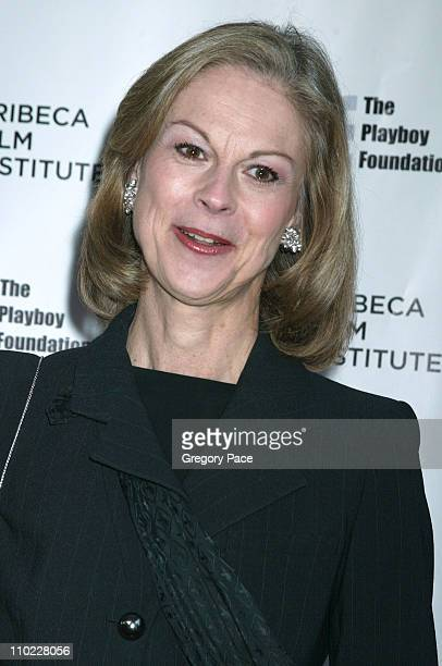 Christie Hefner during Tribeca All Access Connects Awards and Closing Party Arrivals at Tribeca Grand Hotel in New York City New York United States