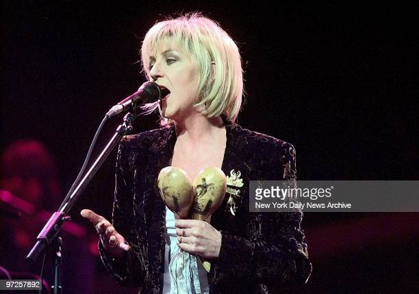 Christie McVie performs with Fleetwood Mac at the Meadowlands Arena