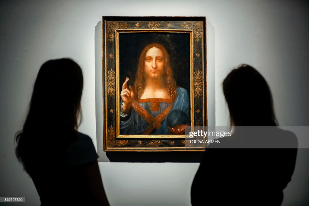 100,000,000 - Amount in US dollars that the long lost painting Salvator Mundi by Leonardo da Vinci is expected to fetch in auction.