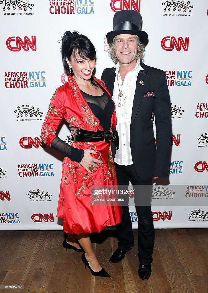 Christiev Alphin and singer Big Kenny attend the 4th Annual African Children's Choir Fundraising Gala at City Winery on December 3, 2012 in New York City.
