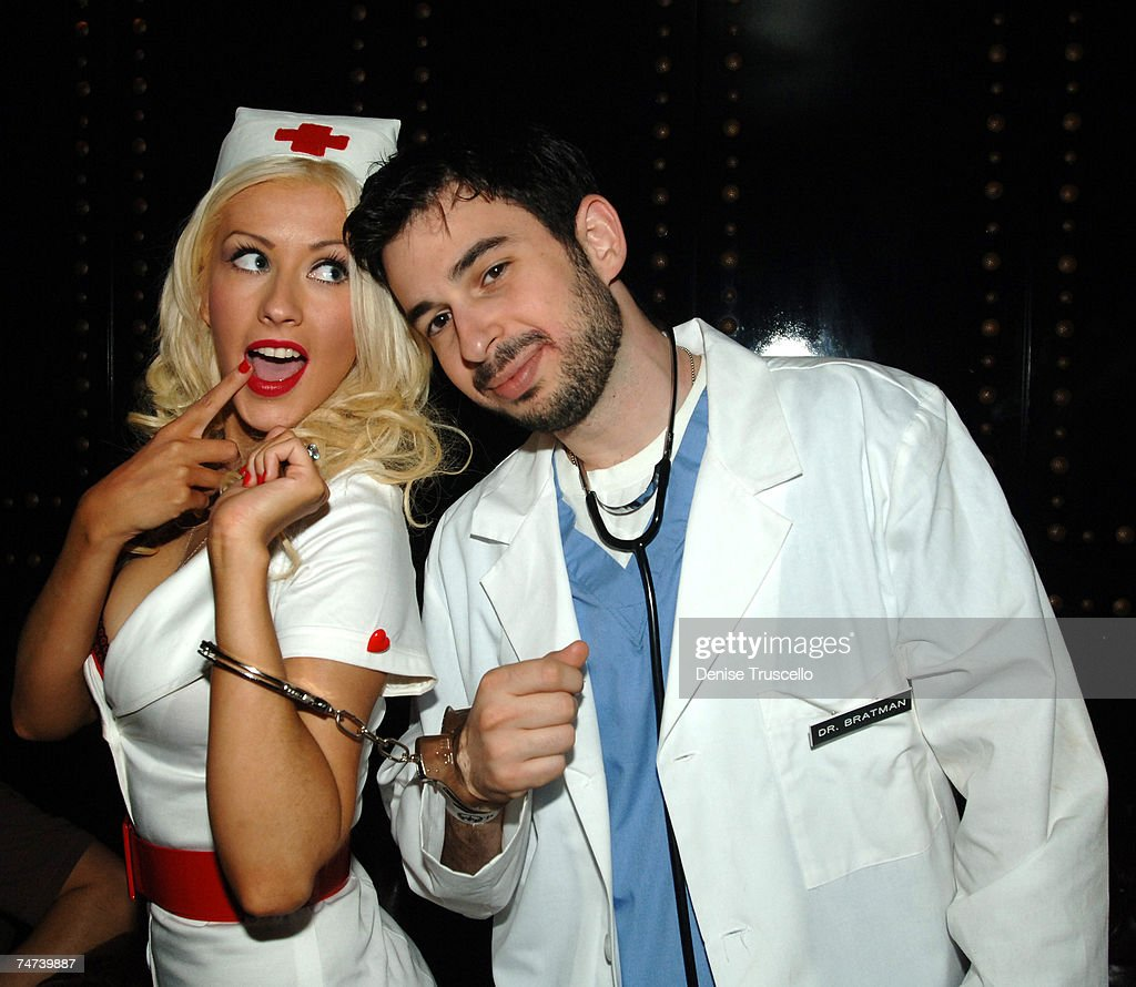 christina aguilera and jordan bratman at the body english at the hard rock hotel and casino - Christina Aguilera Halloween