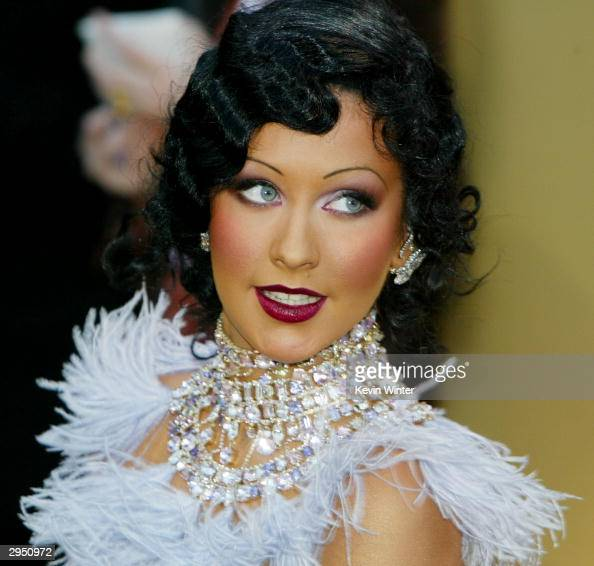 Christina Aguilera arrives at the 46th Annual Grammy Awards held at the Staples Center on February 8 2004 in Los Angeles California