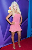 Christina Aguilera arrives at the NBCUniversal's '2013 Summer TCA Tour' at The Beverly Hilton Hotel on July 27 2013 in Beverly Hills California