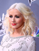Christina Aguilera arrives to the 'The Voice' Season 5 Top 12 Event at Universal Studios Hollywood on November 7 2013 in Universal City California