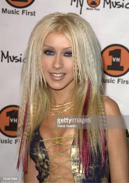 Christina Aguilera at the Shrine Auditorium in Los Angeles California