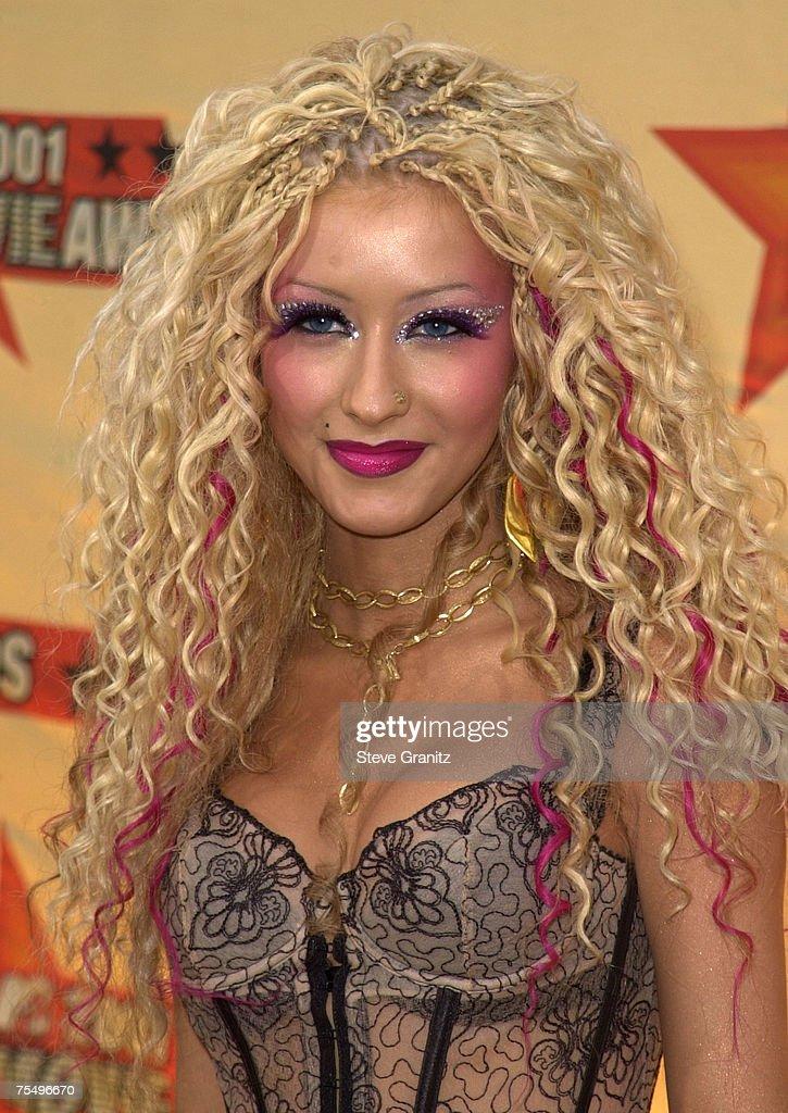 Christina Aguilera at the Shrine Auditorium in Los Angeles, California