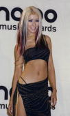 Christina Aguilera backstage at the MTV Music Video Awards 2000 at Radio City Music Hall