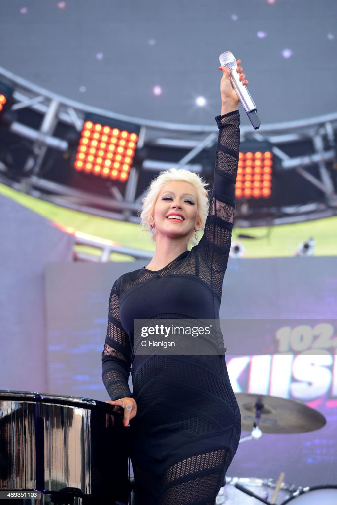 <a gi-track='captionPersonalityLinkClicked' href=/galleries/search?phrase=Christina+Aguilera&family=editorial&specificpeople=171272 ng-click='$event.stopPropagation()'>Christina Aguilera</a> performs during the KIIS FM's 2014 Wango Tango at StubHub Center on May 10, 2014 in Los Angeles, California.