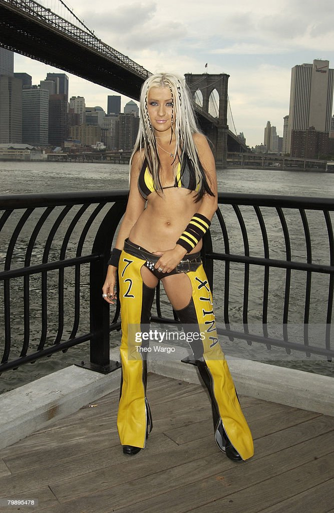 "MTV's ""TRL"" Presents: ""Christina Aguilera Stripped in NYC 2002"" at the Brooklyn"