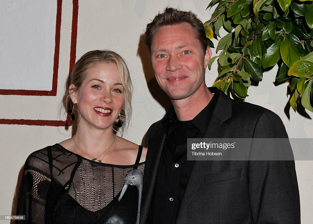 <a gi-track='captionPersonalityLinkClicked' href=/galleries/search?phrase=Christina+Applegate&family=editorial&specificpeople=171273 ng-click='$event.stopPropagation()'>Christina Applegate</a> and Martyn LeNoble attend the 'Kumpania Flamenco' premiere at El Cid on January 31, 2013 in Los Angeles, California.
