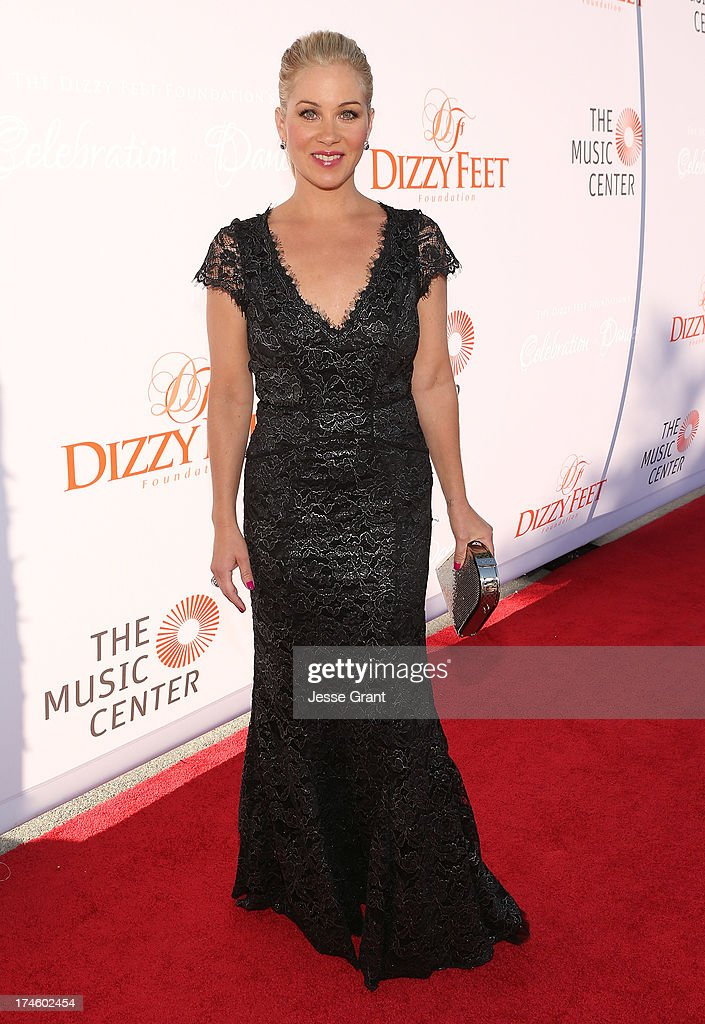 Christina Applegate attends the Dizzy Feet Foundation Third 'Celebration of Dance' Gala at The Music Center on July 27, 2013 in Los Angeles, California.