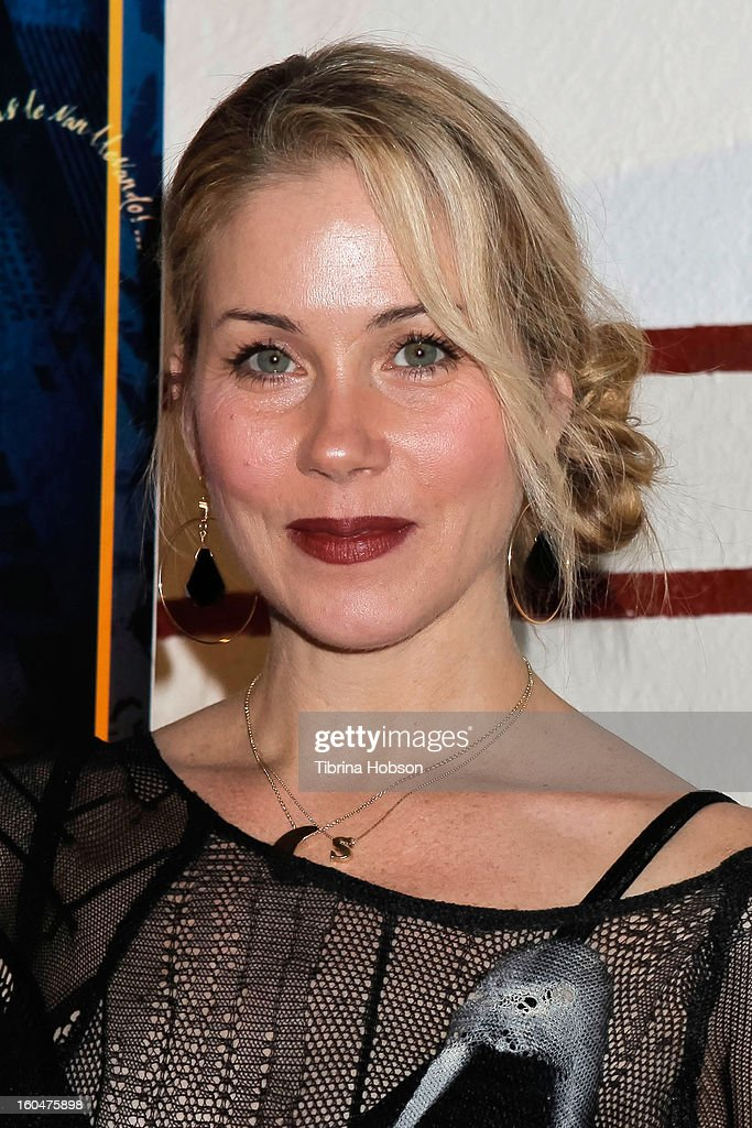 Christina Applegate attends the 'Kumpania Flamenco' premiere at El Cid on January 31, 2013 in Los Angeles, California.