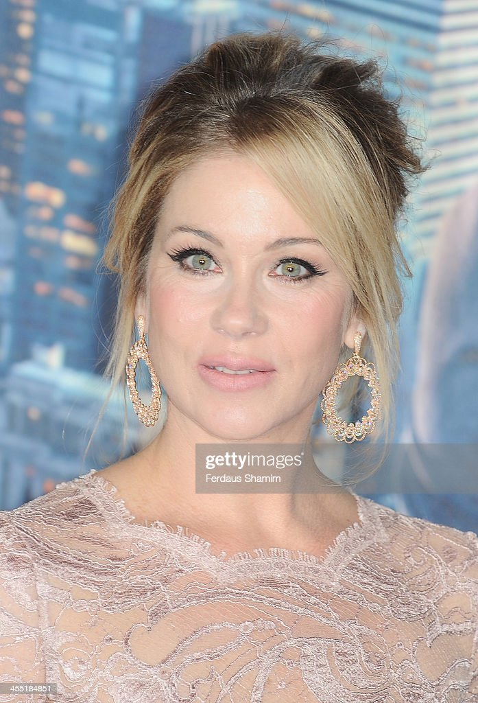 Christina Applegate attends the UK premiere of 'Anchorman 2: The Legend Continues' at Vue West End on December 11, 2013 in London, England.