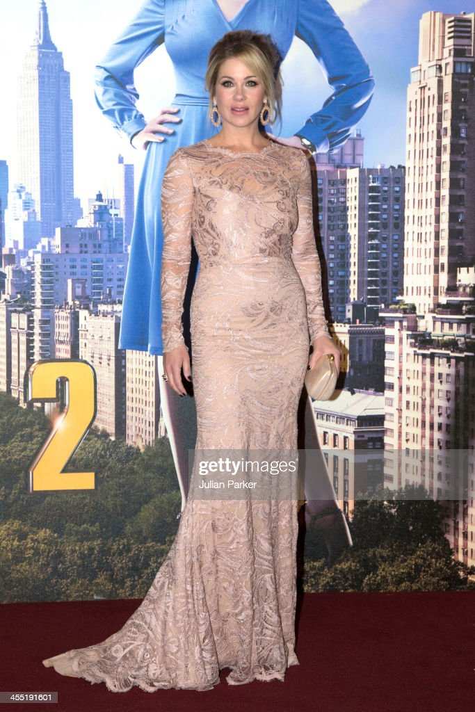 <a gi-track='captionPersonalityLinkClicked' href=/galleries/search?phrase=Christina+Applegate&family=editorial&specificpeople=171273 ng-click='$event.stopPropagation()'>Christina Applegate</a> attends the UK premiere of 'Anchorman 2: The Legend Continues' at Vue West End on December 11, 2013 in London, England.