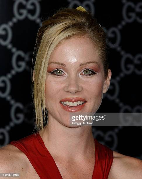 Christina Applegate during Rodeo Drive Walk of Style Event Honoring Tom Ford Arrivals at Rodeo Drive in Beverly Hills California United States