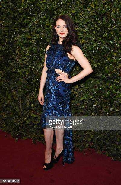 Christina Bennington attends the London Evening Standard Theatre Awards 2017 at the Theatre Royal Drury Lane on December 3 2017 in London England