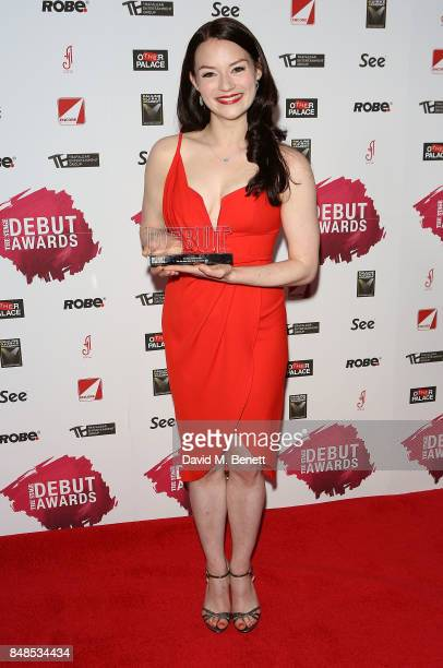 Christina Bennington attends the Stage Debut Awards at 8 Northumberland Avenue on September 17 2017 in London England
