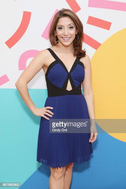 Christina Bianco attends Brit Co Kicks Off Experiential PopUp #CreateGood with Allison Williams and Daphne Oz at Brit Co on October 4 2017 in New...