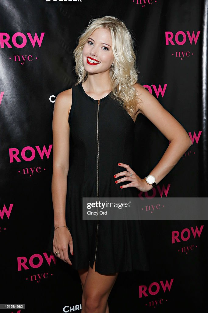 Christina Boesler takes part in Row NYC's 'The Paparazzi Project' at Row NYC on July 1, 2014 in New York City.