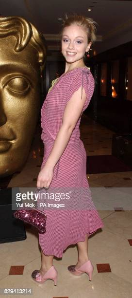 Christina Cole who stars in Hex arriving for the British Academy Children's Film and Television Awards in association with the LEGO Company held at...