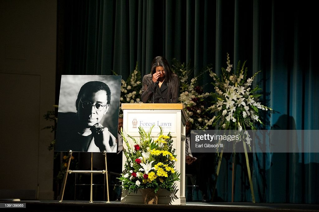 Christina Cornelius speaks about her grandfather Don Cornelius at his Memorial Service on February 16, 2012 in Los Angeles, California.