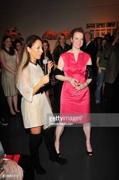 Christina DePaul and Rachel Moore attend In the Studio A Celebration of the Young Arts Gold and Silver Winners at Baryshnikov Arts Center and...