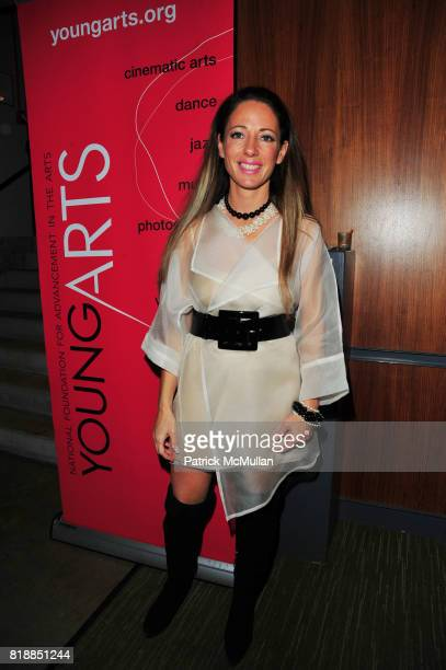 Christina DePaul attends In the Studio A Celebration of the Young Arts Gold and Silver Winners at Baryshnikov Arts Center and Affirmation Arts NYC on...