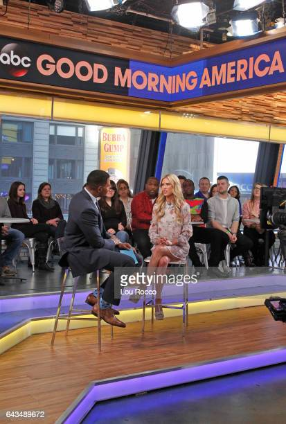 AMERICA Christina El Moussa is a guest on 'Good Morning America' Tuesday February 21 airing on the ABC Television Network {Photo by Lou Rocco/ABC via...