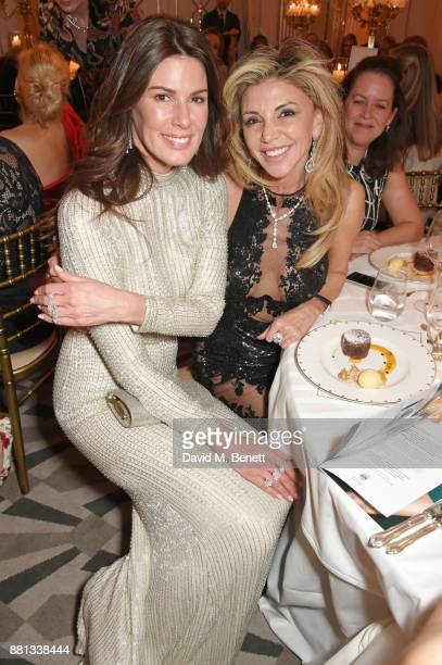 Christina Estrada and Lisa Tchenguiz attend the Lady Garden Gala in aid of Silent No More Gynaecological Cancer Fund and Cancer Research UK at...