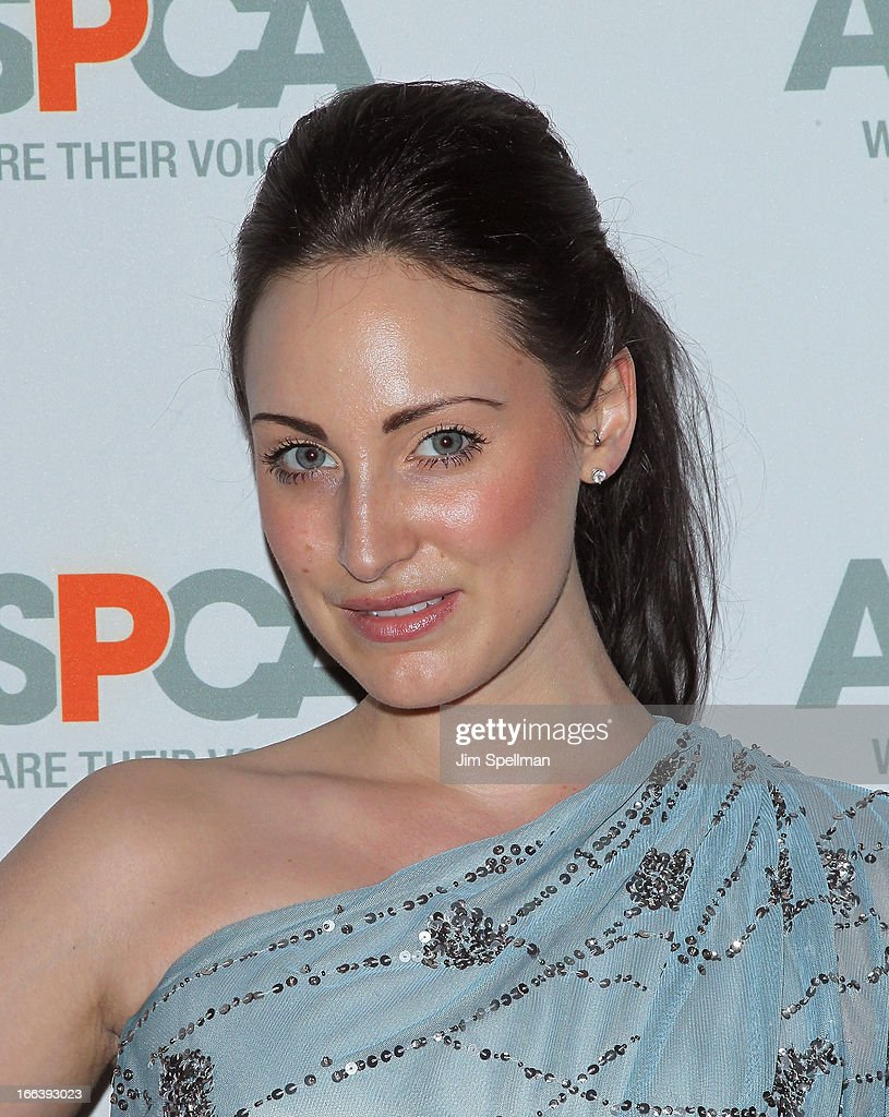 Christina Galioto attends the 16th Annual ASPCA Bergh Ball at The Plaza Hotel on April 11, 2013 in New York City.