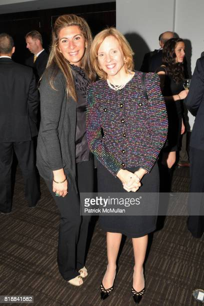 Christina Graham and Nell Kleinschmidt attend TIME INC Live and Unfiltered Presents ROUGH JUSTICE Hosted by FORTUNE at Time and Life Building...