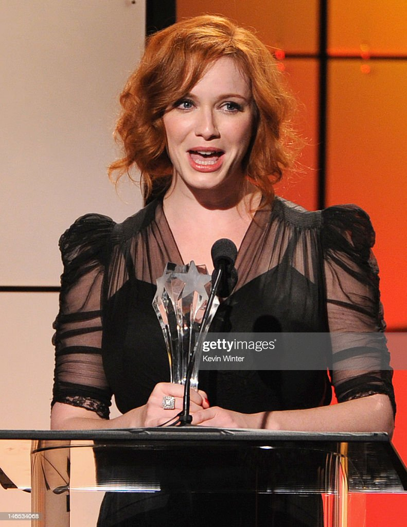 <a gi-track='captionPersonalityLinkClicked' href=/galleries/search?phrase=Christina+Hendricks&family=editorial&specificpeople=2239736 ng-click='$event.stopPropagation()'>Christina Hendricks</a> accepts the award for Best Drama Supporting Actress onstage during The Broadcast Television Journalists Association Second Annual Critics' Choice Awards at The Beverly Hilton Hotel on June 18, 2012 in Beverly Hills, California.